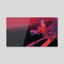 Unthreatening Warmth - Acrylic by Ronan Porter