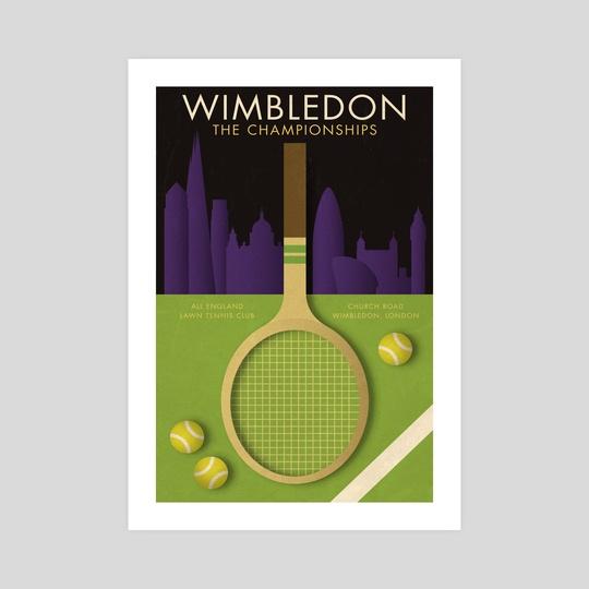 Wimbledon Tennis Championships by Ed Simkins