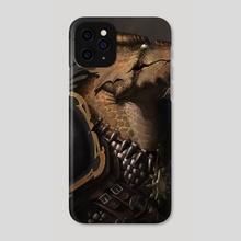 Armored Dragon Warrior - Phone Case by Ryan Wardlow