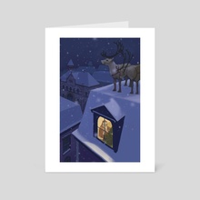 'Twas the Night Before Christmas - Art Card by Brendan Totten