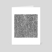 Black & White 14 - Art Card by hannzoll