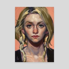 Just Peachy - Canvas by John Larriva