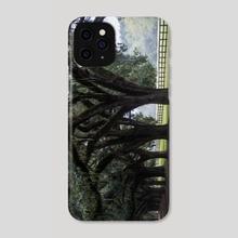 Tree Arch Drive - Phone Case by Alex Tonetti