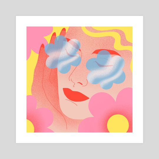Flower Power 1 by Clémence Gouy