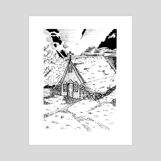 Icelandic Hut by Łukasz Bojke
