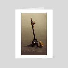 Some ink frogs - Art Card by Fabien SERRE