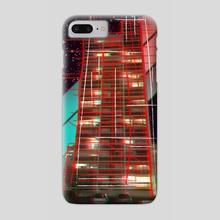 Retro Building - Phone Case by Jérémy Hervier