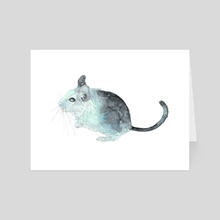 Stellar degu - Art Card by Anaïs Faë