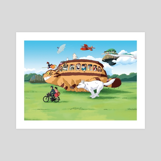 All Aboard the Catbus by Josh Filhol