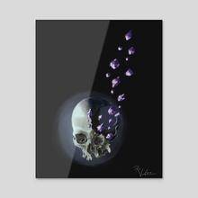 Shattered - Acrylic by Ren Varela