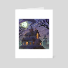 Mad Monster Mansion - Art Card by Matt Rockefeller
