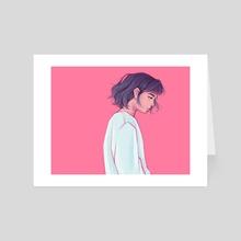 Sad - Art Card by Joy Cardaño