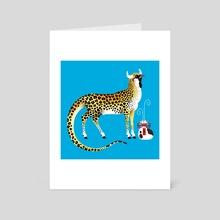 Fei Lian the Wind God - Art Card by Jennifer Smith