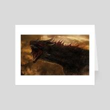 Drogon - Art Card by Karolina Plutowska