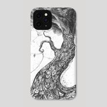 Doodle tree - Phone Case by Svetlana Fictionalfriend