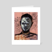 From the Omo Valley 3 - Art Card by Vinicius Chagas