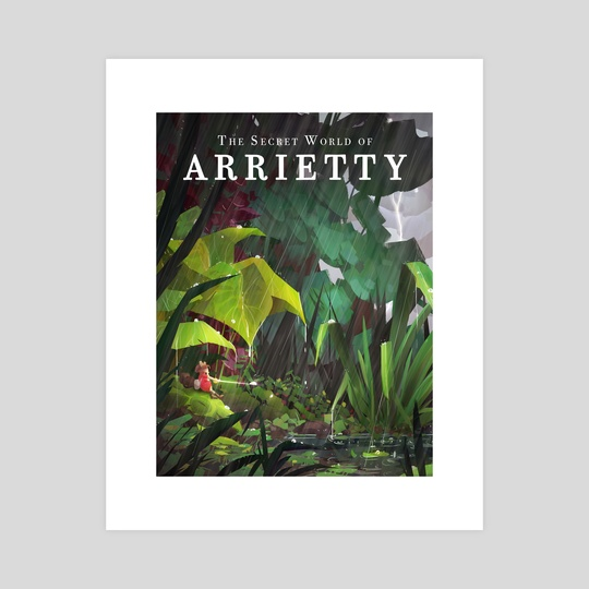 Ghibli - Arrietty by spiridt