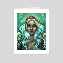 Aquamarine - Art Card by Venus
