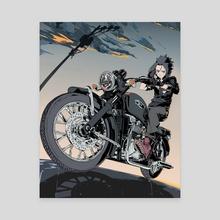 Triumph - Canvas by hello clonion