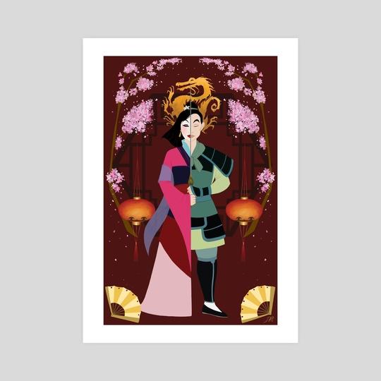 Mulan by Deena Draws