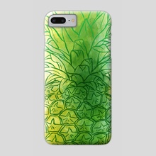Fresh pineapple - Phone Case by Carl Conway