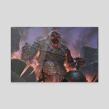 Siegebreaker GIant - Acrylic by Even Mehl Amundsen
