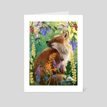 fox // - Art Card by Emme Srinivas