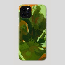 nghỉ - Phone Case by LadVy
