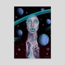 Purpose III - Canvas by Briana Hertzog