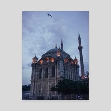 Ortakoy Mosque - Canvas by Hammad Shahid