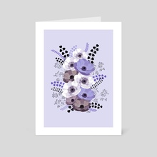 Floral bouquet III - Art Card by Anis Illustration