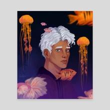 Aquarium  - Canvas by Vosveti