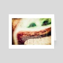 Sonrisa Sechin - Art Card by Diego Diaz Rodriguez