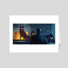 Wolfpack - Art Card by Jin