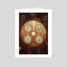 The Glory of Kings - Art Card by Bernard Lee