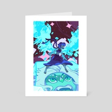 Ocean Gem - Art Card by Shannon Fowler