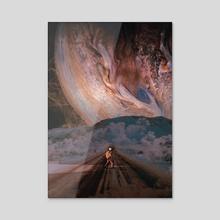 Wanderer - Acrylic by Marischa Becker