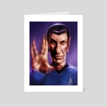 Mr. Spock - Art Card by Rafael Rivera