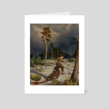 A Storm is coming - Art Card by Axel Sauerwald