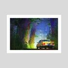 Woods - Art Print by Nicholas Kennedy