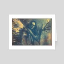 The Dark Dreamer - Art Card by Mark Kelly