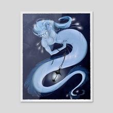 Mermaid  - Acrylic by mollythemole