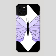 Butterfly / design 20 - Phone Case by Emii Emilova