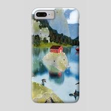 trollfjord - Phone Case by Lara Paulussen