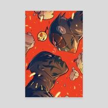 Black Panther vs Deadpool #4 Variant Cover - Canvas by Ricardo Lopez Ortiz