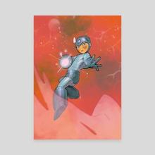 MegaMan - Canvas by Ladon Alex