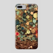Tree of Buttons - Phone Case by Emily McDonnell