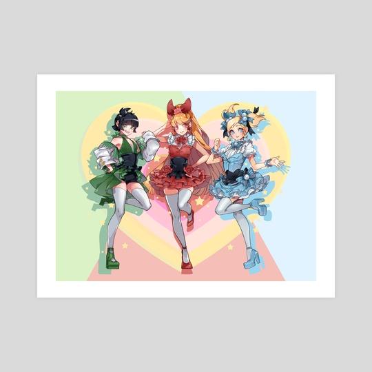 Idol Powerpuff Girls by Ippus