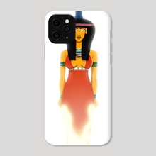 Aset, Great of Magic - Phone Case by Sandro Perovic