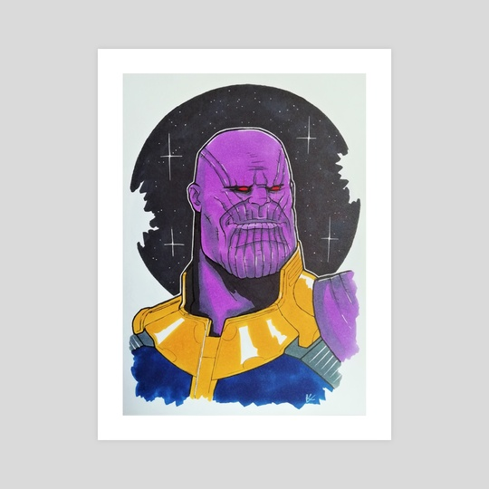 Thanos by Nilla Skaalu